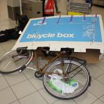Unpacked bike @Schiphol