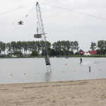 Water ski machine in pod in Heerhugowaard