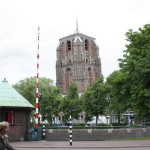 Oldehove leaning tower in Leeuwarden (leans more than the tower of Pisa!)